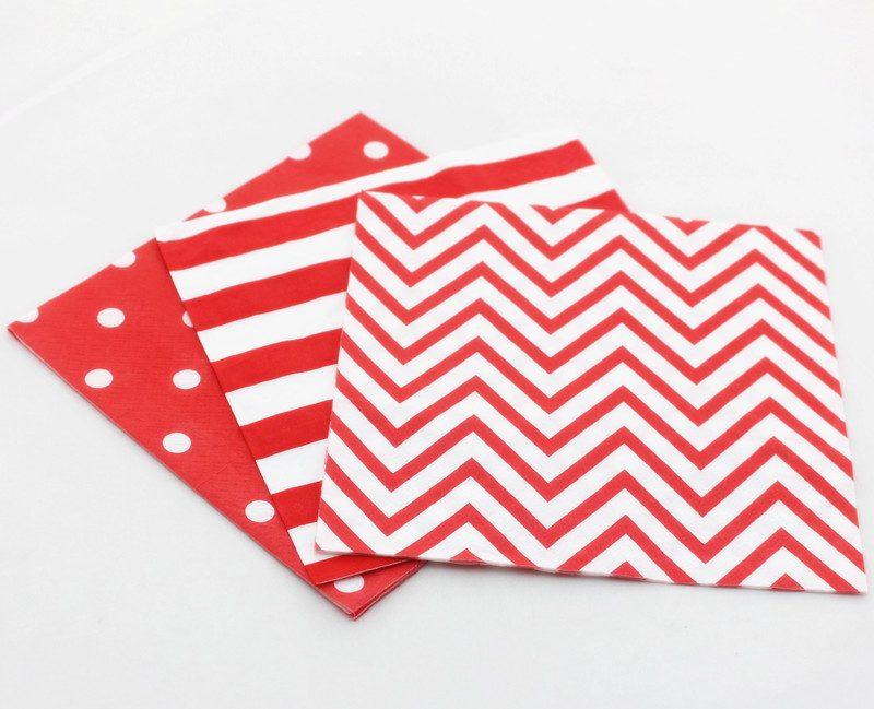 red-paper-napkin