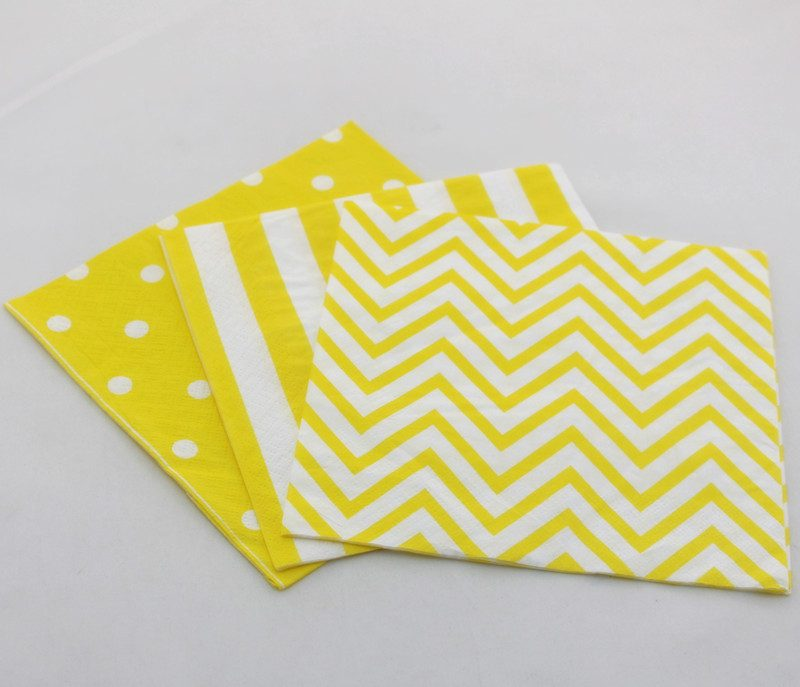 yellow-paper-napkin