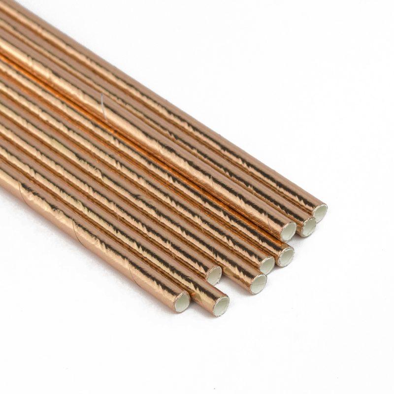 high quality metallic straws